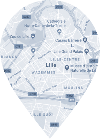 Map lille